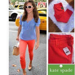 NWT Kate Spade Broome Street Capri Jeans
